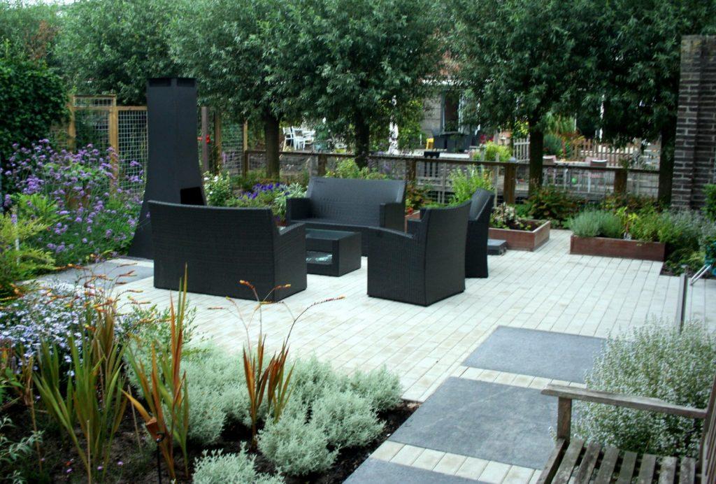 moderne tuin by Geral Overbeek