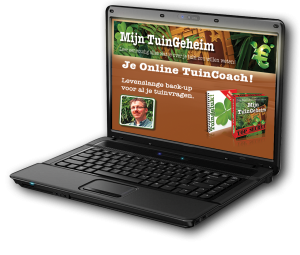 afbeelding laptop met je online tuincoach tuingeheim-pakket