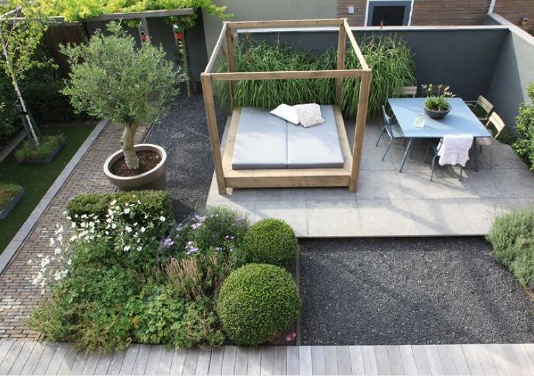 Tuinontwerp Kleine Tuin : Tips voor een kleine tuin