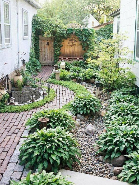 Voorkeur 10 tips voor een kleine tuin #QH91