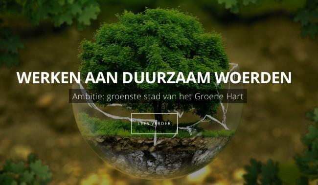 duurzaam woerden werkt samen met tuincursus online