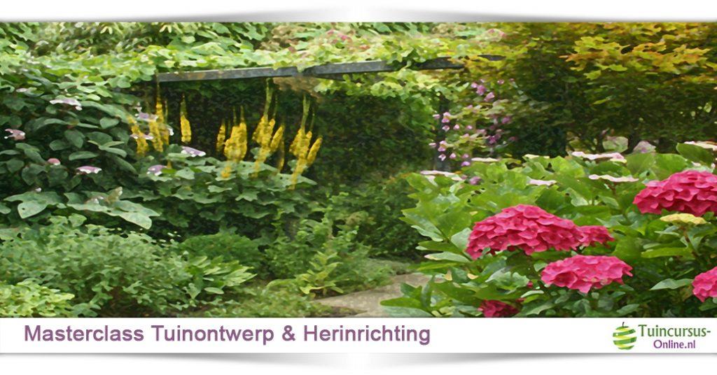 Eigen Tuin Ontwerpen : Overzicht tuincursussen en workshops